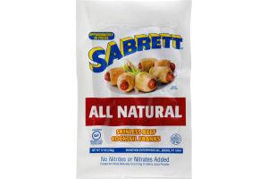 Sabrett All Natural Skinless Beef Cocktail Franks