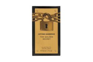 Туалетная вода мужская The Golden Secret Antonio Banderas 50мл