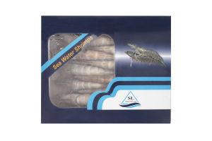 Креветки в панцире с головой сырые мороженые 16/20 Polar Seafood м/у 800г