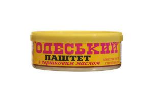 Паштет со сливочным маслом Одесский Онисс ж/б 240г