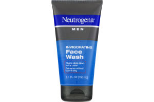 Neutrogena Men Face Wash Invigorating
