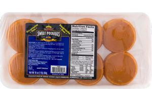 Bright Harvest Sweet Potatoes Patties - 8 CT