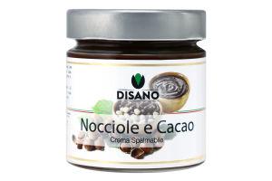 Крем-паста с какао и фундуком Disano с/б 0.2кг