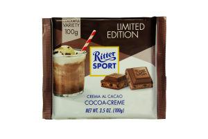 Шоколад молочний Cocoa-Cream Ritter Sport 100г