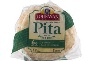 Toufayan Bakeries Pita Sweet Onion - 6 CT