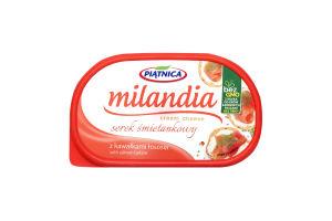 Сыр Piatnica Миландия мягкий сливочный лосось 60%