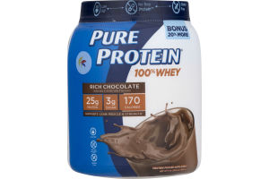 Pure Protein 100% Whey Rich Chocolate
