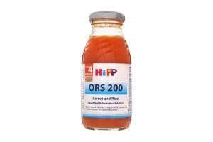 Відвар моркв'яно-рисовий ОРС 200 Hipp 200мл