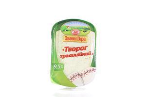 Творог 9,5% Традиционный кисломолочный ЗвениГора п/б 230г