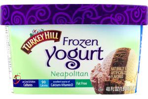 Turkey Hill Frozen Yogurt Neapolitan