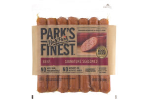 Ball Park Park's Finest Signature Seasoned Beef