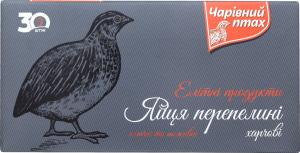 Яйця перепелині Чарівний птах к/у 30шт