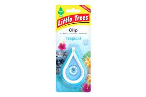 Освежитель воздуха №9748.2 Tropical Clip Little Trees 1шт