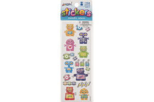ArtSkills Stickers Metallic Robots - 250 Pieces