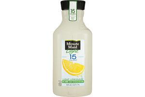 Minute Maid Light Fruit Drink 15 Calories Light Lemonade