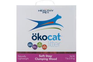 okocat Litter Soft Step Clumping Wood