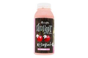 Йогурт 2.7% из козьего молока Вишня Доообра Ферма п/бут 300мл