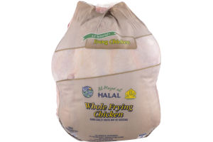 Al-Mazra'ah Halal Whole Frying Chicken