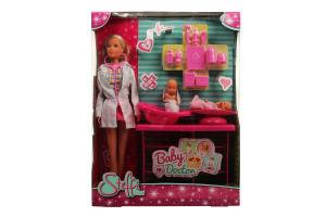 Кукла для детей от 3-лет №2608 Baby Doctor Steffi love Simba 1шт