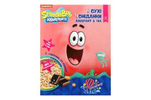 Сніданки амарантові повітряні з Чіа, темним шоколадом і арахісом Air Yummy Healthy Generation к/у 7х35г