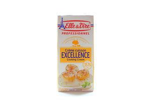 Сливки 35.1% стерилизованные кулинарные Elle&Vire т/п 1л