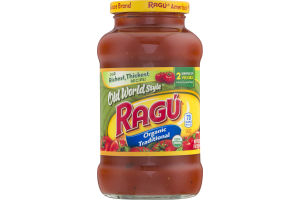 Ragu Old World Style Organic Traditional Sauce