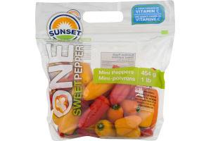 Sunset One Sweet Pepper Mini Peppers