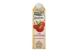 Сок томатный с солью с мякотью Galicia т/п 1л