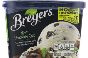 Breyers Mint Chocolate Chip Ice Cream