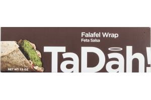 TaDah Falafel Wrap Feta Salsa