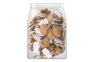 Печиво здобне з молочною глазур'ю Міні-Мішутка Friendy кг