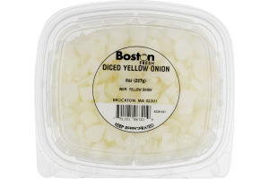 Boston Fresh Diced Yellow Onion