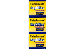 Fleischmann's RapidRise Instant Yeast - 3 CT