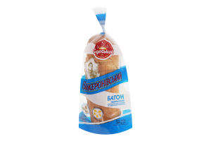 Батон пшеничный нарезной Ланжероновский Одеський хлібозавод №4 м/у 450г