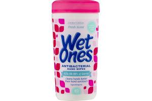 Wet Ones Antibacterial Hand Wipes Fresh Scent - 40 CT