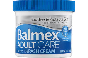Balmex Adult Care Rash Cream