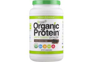 Orgain Organic Protein Plant Based Powder Creamy Chocolate Fudge