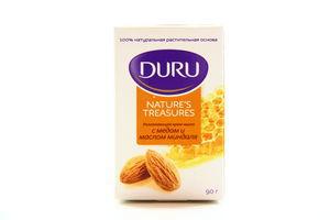 Крем-мыло туалетное с медом и маслом миндаля Nature's Treasures Duru 90г