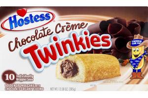 Hostess Chocolate Creme Twinkies - 10 CT