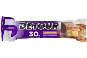 Detour Whey Protein Bar Peanut Butter Cream