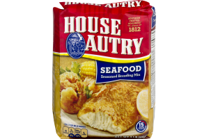 House Autry Seasoned Breading Mix Seafood