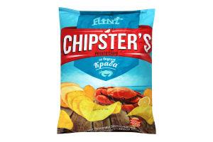 Чіпси картопляні зі смаком краба Chipster's м/у 130г