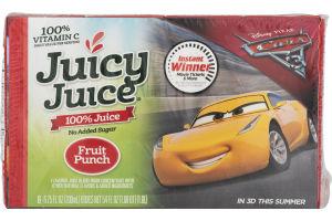 Juicy Juice 100% Juice Fruit Punch - 8 CT