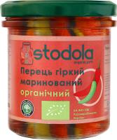Перець маринований гіркий Stodola с/б 300г