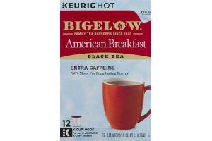 Bigelow American Breakfast Black Tea K-Cup Pods - 12 CT