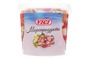 Креветки VICI Mini с пряностями в чесночном масле