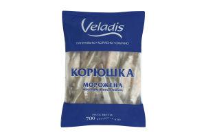 Корюшка мороженая неразобранная глазурованная Veladis м/у 700г