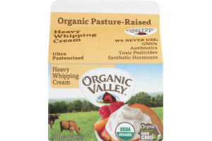 Organic Valley Ultra Pasteurized Heavy Whipping Cream
