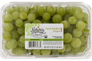 Nature's Promise Organic Grapes Green Seedless