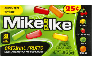 Mike and Ike Original Fruits Candies